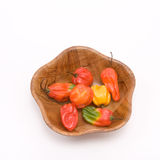 Mixed Caribbean Chillies Stock Photography
