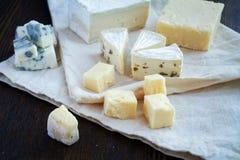 Mixed cheese Royalty Free Stock Photos