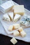Mixed cheese Royalty Free Stock Images