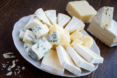 Mixed cheese Stock Images