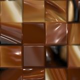 Mixed Chocolate bar Royalty Free Stock Image