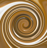 Mixed Chocolate Swirl Stock Photo