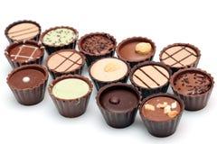 Mixed Chocolates Royalty Free Stock Photography