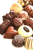 Mixed Chocolates Stock Images