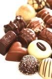 Mixed Chocolates stock images