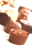Mixed Chocolates Royalty Free Stock Photo