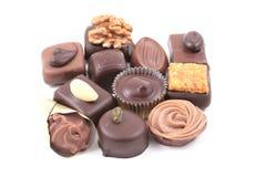 Mixed chocolates Royalty Free Stock Photos