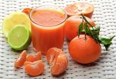 Mixed Citrus Juice Royalty Free Stock Photography