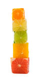 Mixed citrus tower Stock Photo