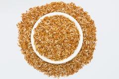 Mixed coarse rice Stock Photo
