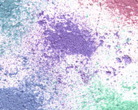 Mixed color eye shadow background. royalty free stock photo