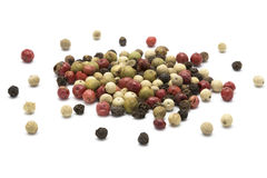 Mixed color pepper Royalty Free Stock Photography