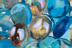 Mixed Colored Glass Stock Photo