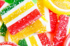 Mixed colorful candies background Royalty Free Stock Photography
