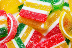 Mixed colorful candies background Stock Photography