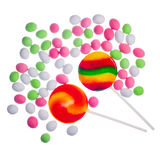 Mixed colorful candies Royalty Free Stock Photography