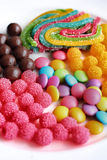 Mixed colorful candy Royalty Free Stock Photography