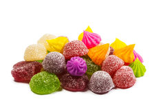 Mixed colorful candy Royalty Free Stock Photos
