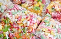 Mixed colorful caramels Royalty Free Stock Image