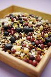 Mixed colorful grains Background image. Various kinds of grains, colorful image Stock Photo