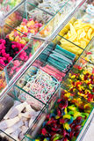 Mixed colorful jelly candies Royalty Free Stock Photos