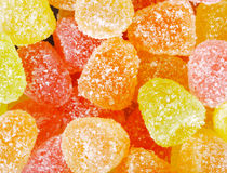 Mixed colorful jelly candies Stock Images