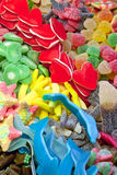 Mixed colorful sweets Stock Photo