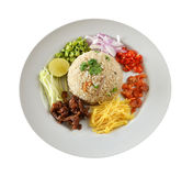 Mixed cooked rice Royalty Free Stock Image