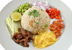 Mixed cooked rice Stock Images