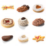 Mixed cookies Royalty Free Stock Image