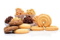 Mixed cookies Stock Image