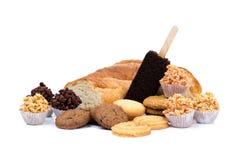 Mixed cookies Stock Photos