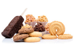 Mixed cookies Stock Photography