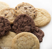 Mixed Cookies pile Stock Images