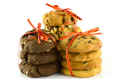 Mixed cookies. Royalty Free Stock Images