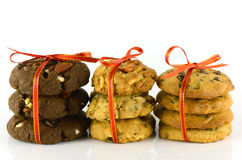 Mixed cookies. Stock Image