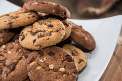Mixed Cookies Royalty Free Stock Images