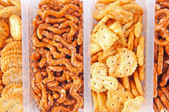 Mixed crackers Royalty Free Stock Photography