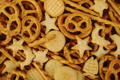Mixed crackers Stock Image
