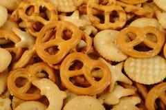 Mixed crackers Royalty Free Stock Image