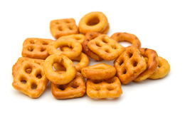 Mixed crackers Stock Images