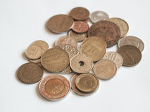 Mixed currencies Stock Images