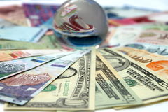 Foreign Currency Stock Photography