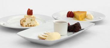 Mixed Desserts Stock Photo