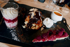 Mixed desserts. Stock Photography