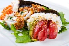 Mixed dish of sushi food Stock Photography