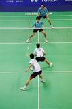 Mixed Doubles,Badminton asia championships 2011 Stock Photos