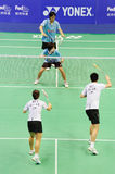 Mixed Doubles,Badminton asia championships 2011 Royalty Free Stock Photo