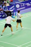 Mixed Doubles,Badminton asia championships 2011 Stock Photo