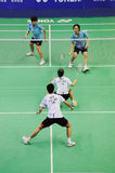 Mixed Doubles,Badminton asia championships 2011 Royalty Free Stock Photos